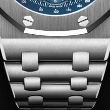 Royal Oak Offshore 26237 Stainless Steel / Blue / Bracelet / 25th Anniversary