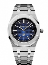 Royal Oak Extra-Thin Titanium / Platinum / Blue