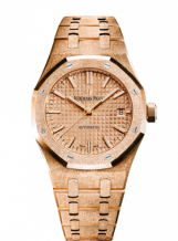 Royal Oak 15454 Selfwinding Frosted Pink Gold / Pink