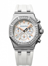 Royal Oak OffShore 26144 Lady Chronograph Stainless Steel / Silver / Diamond / Summer Edition 2017