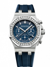 Royal Oak OffShore 26231 Lady Chronograph Stainless Steel / Silver / Diamond