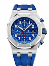 Royal Oak Offshore 42 Stainless Steel / Indigo / Rubber