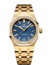 Royal Oak 15451 Selfwinding Yellow Gold / Blue