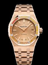 Royal Oak 15451 Selfwinding Pink Gold / Pink / Sapphire