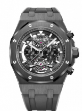 Royal Oak 26343 Tourbillon Chronograph Openworked Ceramic