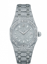 Royal Oak 67604 Quartz White Gold / Diamond / Diamond / Bracelet