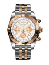 Chronomat 44 Stainless Steel / Rose Gold / Antarctica White / Bracelet