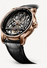 CODE 11.59 Tourbillon Openworked Red Gold / Black