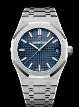 Royal Oak 15500 Stainless Steel / Blue
