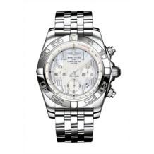 Chronomat 44 Stainless Steel / Pearl Roman / Bracelet