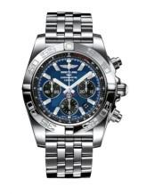 Chronomat 44 Stainless Steel / Blackeye Blue / Bracelet