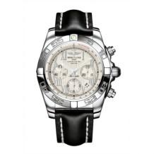 Chronomat 44 Stainless Steel / Sierra Silver Roman / Calf