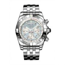 Chronomat 44 Stainless Steel / Gray Pearl / Bracelet