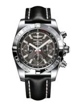 Chronomat 44 Stainless Steel / Carbon Black / Calf