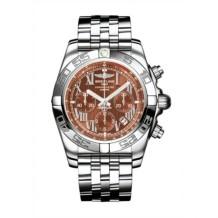 Chronomat 44 Stainless Steel / Amber / Bracelet