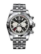 Chronomat 47 GMT Stainless Steel / Onyx Black / Bracelet