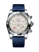 Chronomat 47 GMT Stainless Steel / Sierra Silver / Rubber