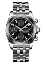 Chronomat 38 SleekT Black