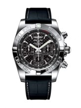Chronomat 44 Stainless Steel / Carbon / Croco Rubber