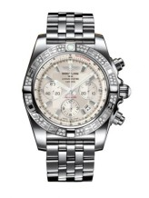 Chronomat 44 Stainless Steel / Diamond / Sierra Silver / Bracelet