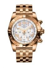 Chronomat 44 Rose Gold / Pearl Roman / Bracelet