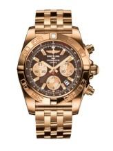 Chronomat 44 Rose Gold / Metallica Brown / Bracelet