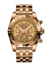 Chronomat 44 Rose Gold / Golden Sun / Bracelet