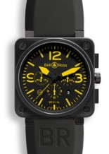 BR 01 94 Yellow Chronograph