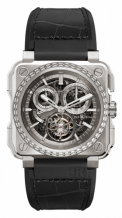 BR-X1 Tourbillon Chronograph Titanium Diamonds