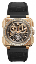 BR-X1 Tourbillon Chronograph Rose Gold Diamonds