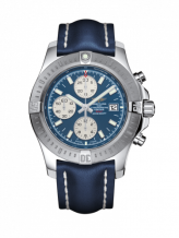 Colt Chronograph Automatic Stainless Steel / Mariner Blue / Calf / Folding