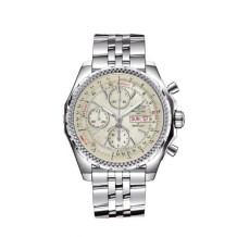 Breitling for Bentley GT Stainless Steel / White / Japan Special Edition