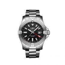 Avenger Automatic GMT 43 Stainless Steel / Black / Bracelet