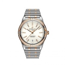 Chronomat Automatic 36 Stainless Steel / Red Gold - Diamond / White / Rouleaux