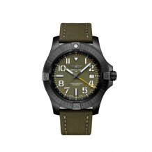 Avenger Automatic GMT 45 Night Mission / Green / Military / Pin