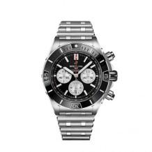 Super Chronomat B01 44 Stainless Steel / Black / Rouleaux