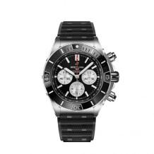 Super Chronomat B01 44 Stainless Steel / Black / Rubber