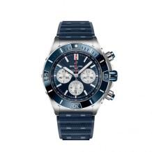 Super Chronomat B01 44 Stainless Steel / Blue / Rubber