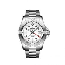 Avenger Automatic GMT 43 Stainless Steel / White / Bracelet