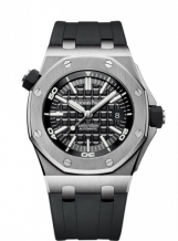 Royal Oak Offshore Diver Stainless Steel / Black