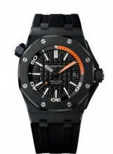 Royal Oak Offshore Diver 15707 Black Ceramic / Orange