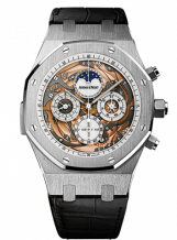 Royal Oak Grande Complication Openworked White Gold / Strap