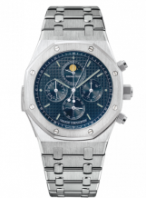 Royal Oak Grande Complication White Gold / Blue