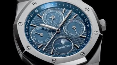 Royal Oak Perpetual Calendar 41 Stainless Steel / Blue