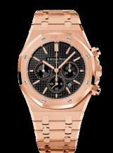 Royal Oak Chronograph 41 Pink Gold / Black