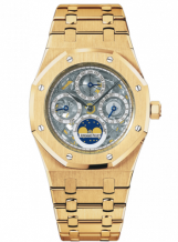 Royal Oak Perpetual Calendar Openworked Yellow Gold