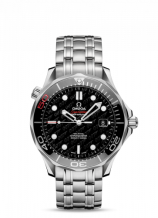 Seamaster Diver 300M Co-Axial 41 Stainless Steel / Black / Bracelet James Bond 50th Anniversary