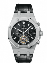 Royal Oak Tourbillon Chronograph Stainless Steel / Strap