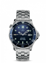 Seamaster Diver 300M Quartz 41 Stainless Steel / Blue / Bracelet / James Bond