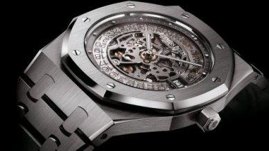 Royal Oak Openworked 15203 Extra-Thin 40th Anniversary Platinum